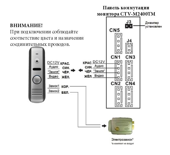 Вызывная панель схема подключения фото 225
